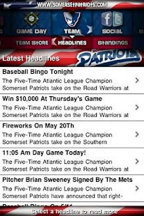 Somerset Patriots- screenshot thumbnail