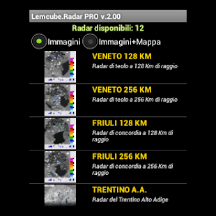 Radar Meteo Pro - screenshot thumbnail
