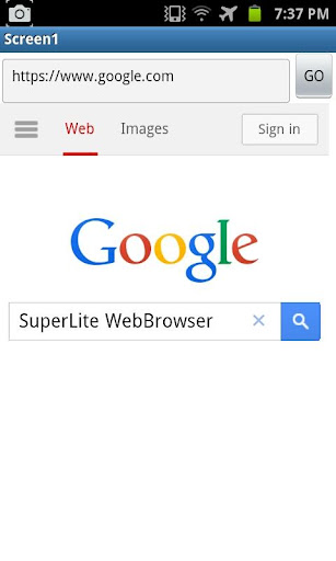 SuperLite WebBrowser