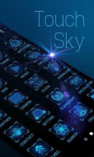 Touch Sky GO Launcher Theme