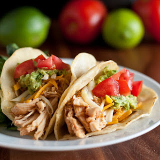 Chicken Tacos (Cafe Rio Shredded Chicken Copycat Recipe)