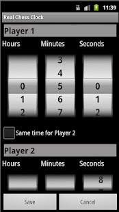Real Chess Clock- screenshot thumbnail