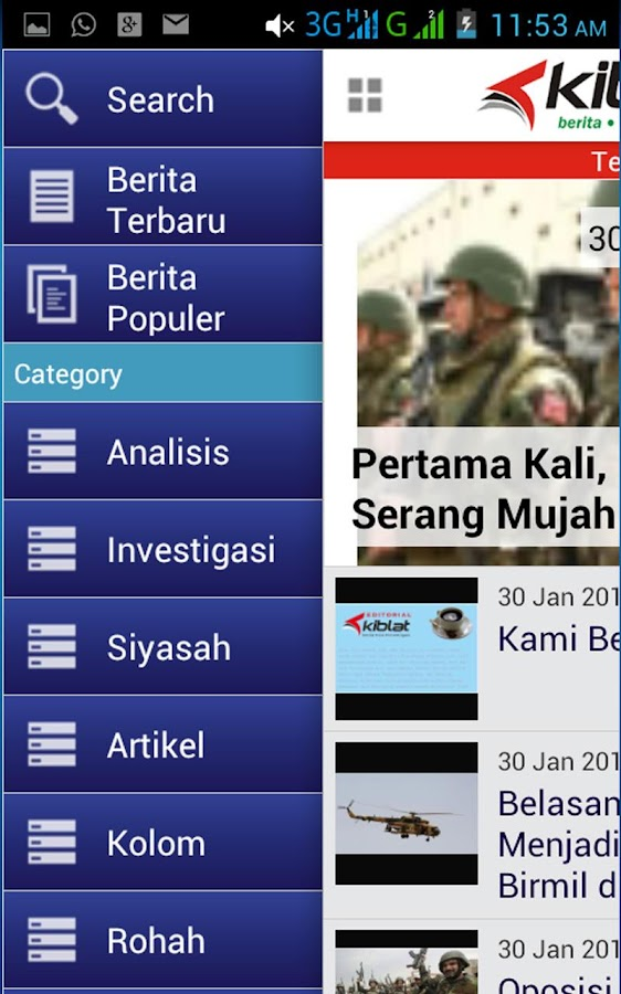 Kiblat Net- screenshot