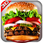 Burger Relish 3D