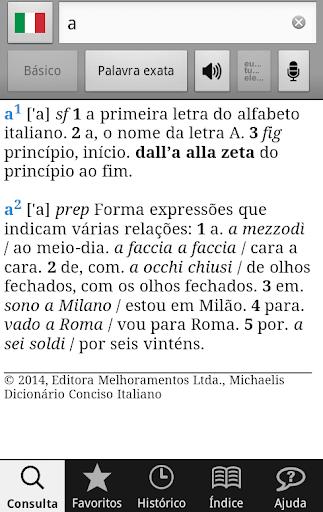 Michaelis Conciso Italiano