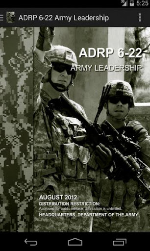 ADRP 6-22 Army Leadership