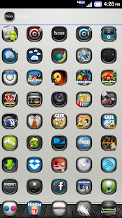 玩個人化App|Boss Icons Apex Nova Theme免費|APP試玩