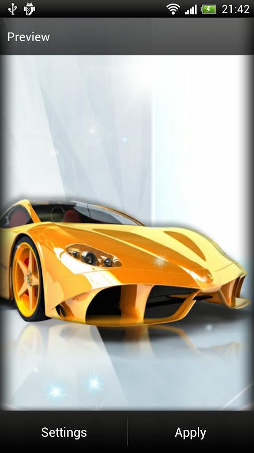 Luxury Car Live Wallpaper- screenshot
