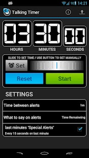 Talking Timer- screenshot thumbnail
