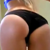 Sexy Ass Blonde Booty Dance