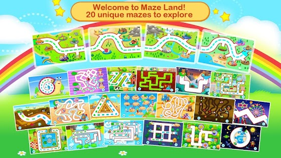 Toddler Maze 123 for Kids HD- screenshot thumbnail