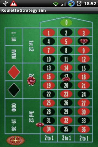 Win Roulette - Strategy Sim - screenshot