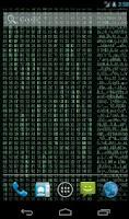 Screenshot of Matrix Stream Wallpaper Free