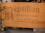 Logo for Reptilian Cervesa Artesanal