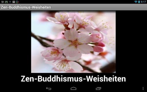 Zen Buddhismus Weisheiten