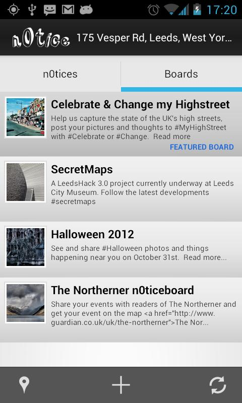 n0tice for Android - screenshot