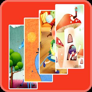 Cute Cartoon WallPaper 5 漫畫 App LOGO-APP試玩