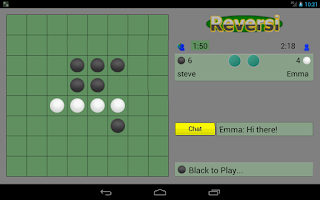 Screenshot of Reversi Online