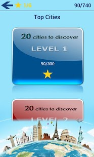 Geography Quiz - City Puzzle - screenshot thumbnail