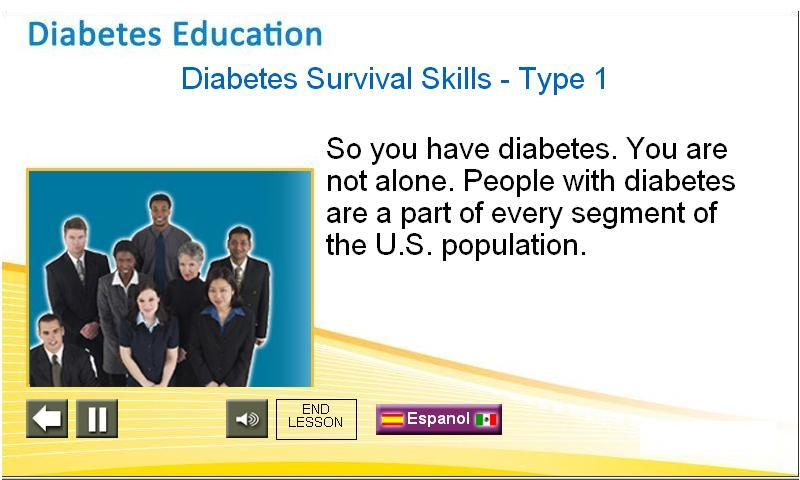 Type 2 Diabetes - screenshot