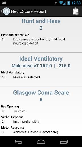 【免費醫療App】Neuro Scores-APP點子