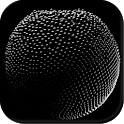 Black sphere icon