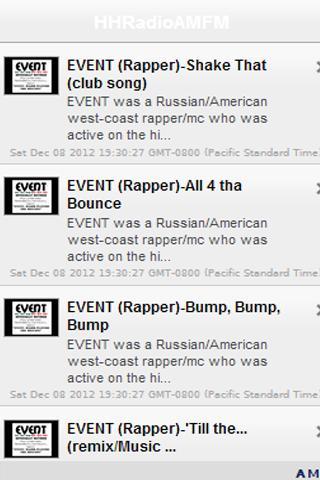Hip-Hop AM FM Radio