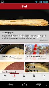 Ricette Dolci - screenshot thumbnail