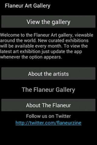 Flaneur Art Gallery - screenshot