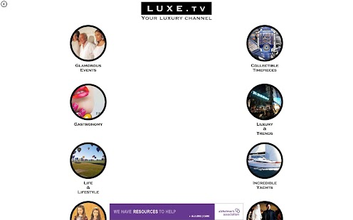 Luxe.TV Player- screenshot thumbnail