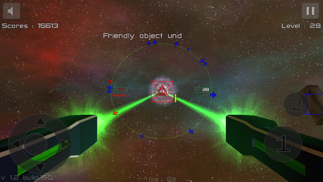 Gunner : Free Space Defender- screenshot