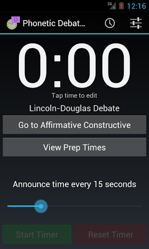 Phonetic Debate Timer Pro