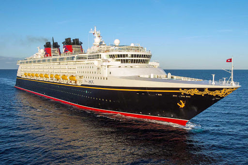 Disney-Magic-at-sea-2 - Disney Magic sails to the Western Caribbean, Southern Caribbean, Bahamas, Northern Europe, Norwegian fjords, Iceland, Barcelona and elsewhere.