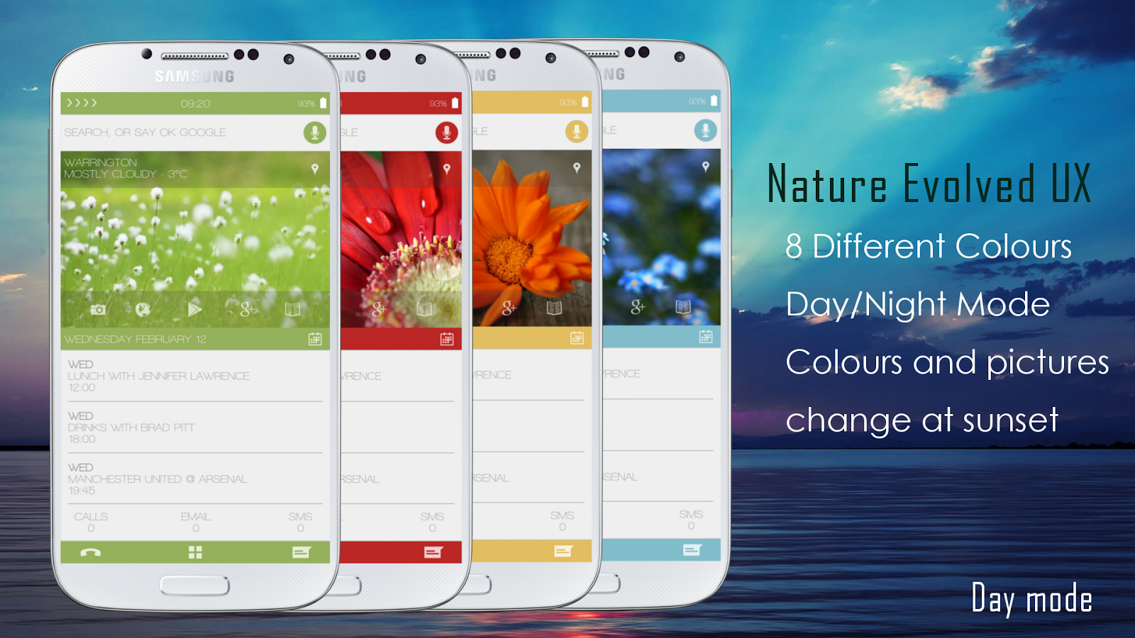 Nature Evolved UI Zooper Skin - screenshot