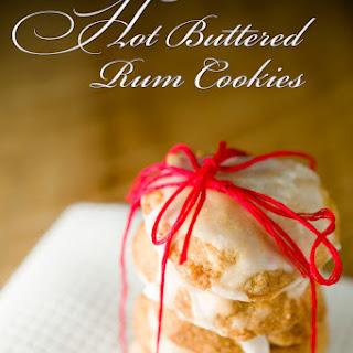 Hot Buttered Rum Cookies.
