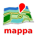 Chicago Mapa mappa offline icon