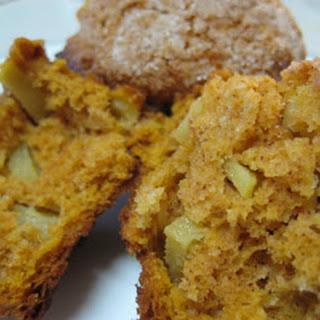 Pumpkin Apple Streusel Muffins.