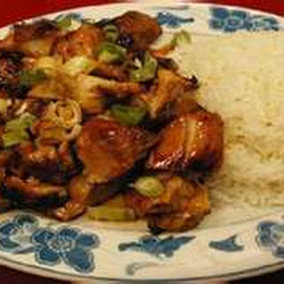Bourbon Chicken.