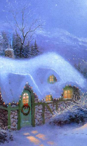 Christmas Cottage LWP