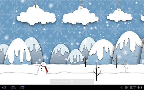 Samsung Parallax Winter LWP- screenshot thumbnail
