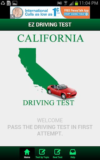California Driving Test