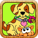 Coloring Famous Cartoon Dogs icon
