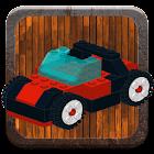 Brick car examples icon
