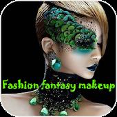 Fashion fantasy makeup