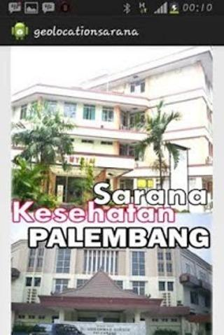 Sarana Kesehatan di Palembang