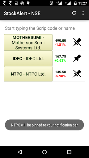 Stock Watch NSE