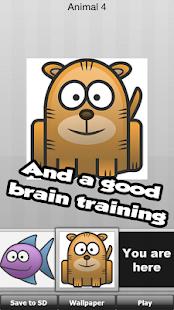 Animal Fun - děti hra - náhled