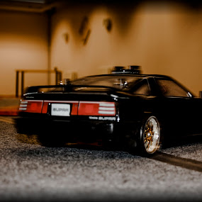 RC Drifting - Toyota Supra by Aleksander Hansen - Transportation Automobiles ( supra, car, indoor, drifting, driving, remote controlled, drift, toyota, rc )