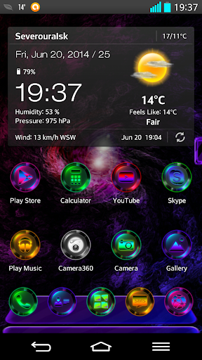 Next Launcher Theme MixedColor