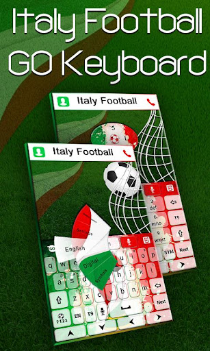 Football Italy Keyboard Theme